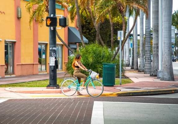 Most wakable suburbs in Miami